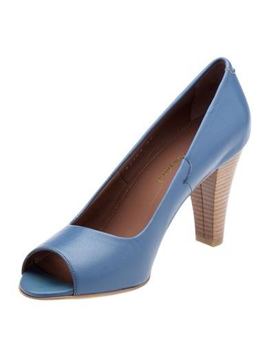 Hush Puppies %100 Deri Ayakkabı Mavi